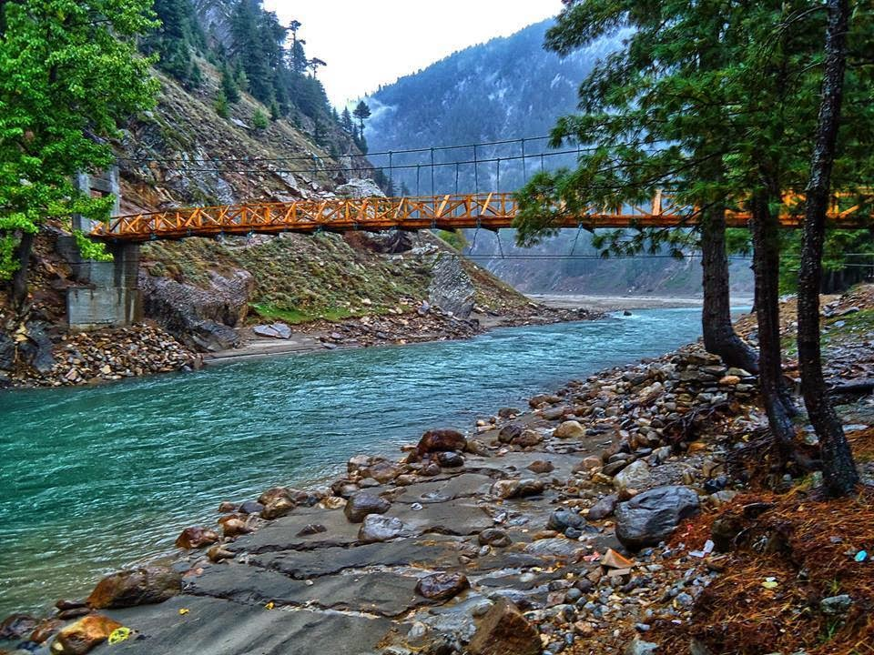 Bridge Over River Kunhar
